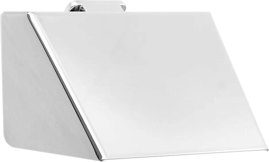 Soul 161843 držiak toaletného papiera s krytom, chróm
