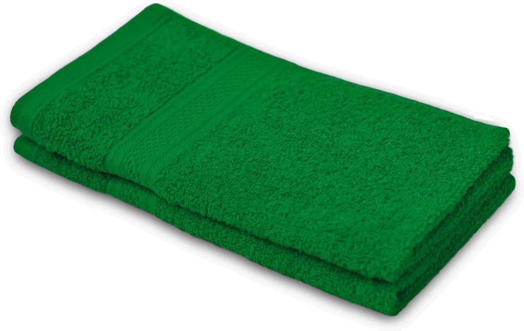 Detský uterák BAMBI tmavo zelená 30x50 cm