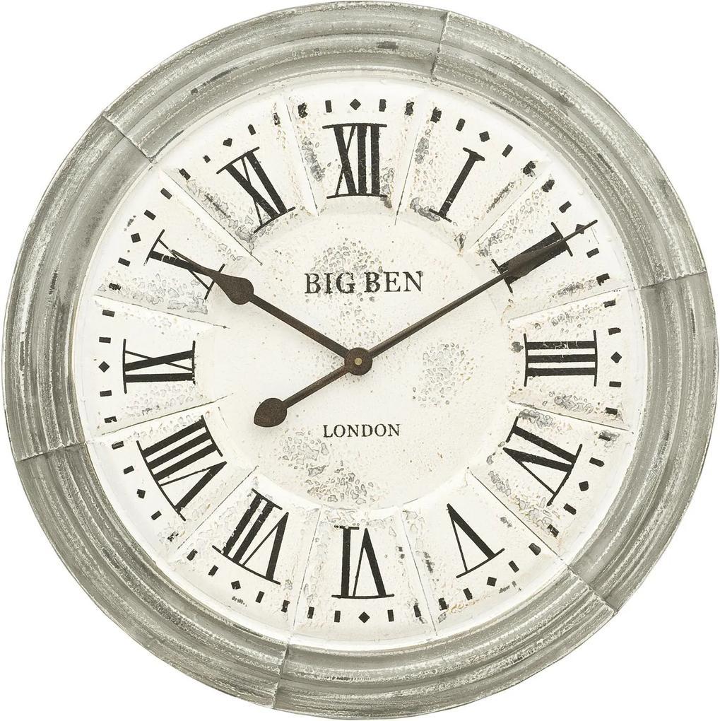Kovové nástenné hodiny BIG BEN - Ø 60 * 5 cm