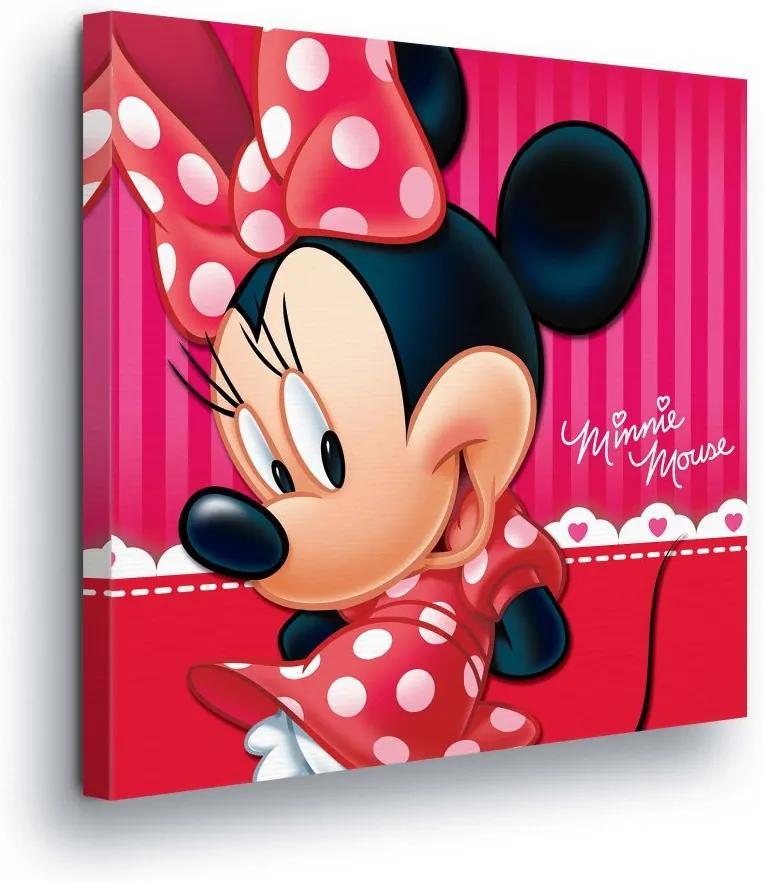 096b8b51f14c Obraz na plátne - Disney Minnie Mouse in Red III 80x80 cm ...