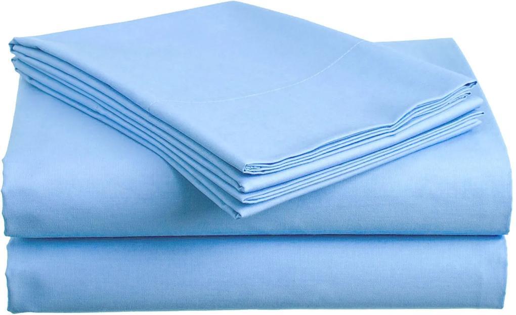 Bavlnená plachta modrá 140x240 cm Gramáž: Standard (130 g/m2)