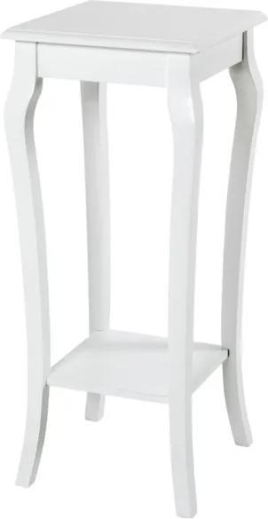 Sconto Prístavný stolík PROVENCE biela