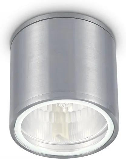 Ideal Lux 092324 vonkajšie stropné svietidlo Gun Alluminio 1x28W | GU10 | IP44