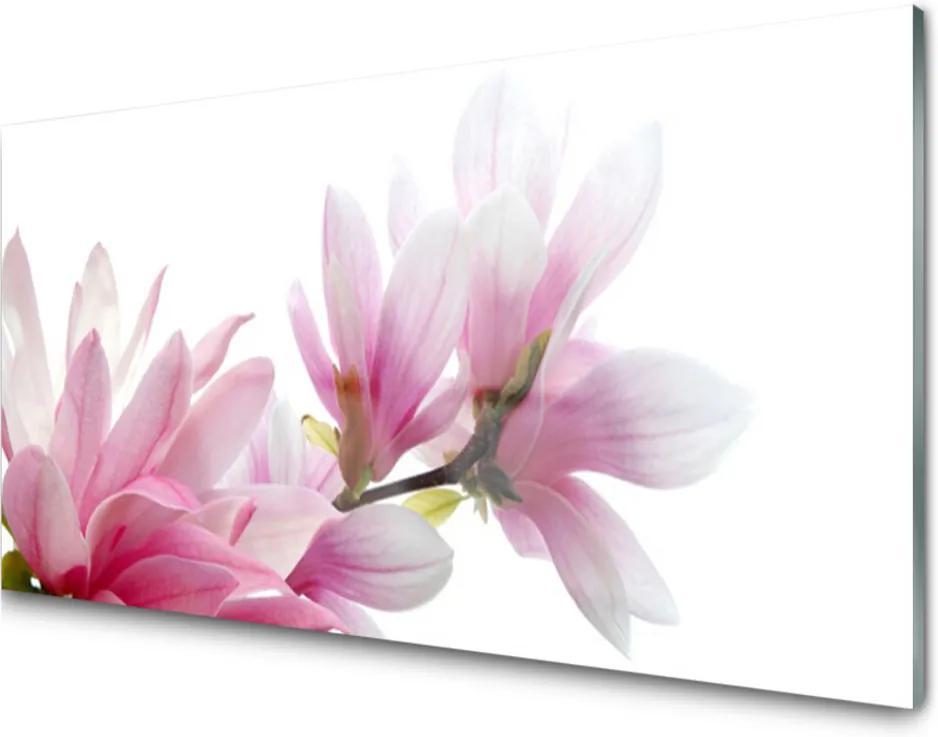 Akrylové obraz Skleněný magnolie květ