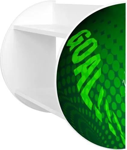 MAXMAX Detská polička FOOTBALL green