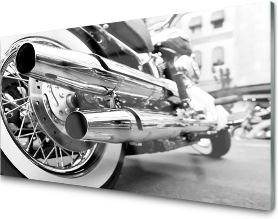 Akrylové obraz Skleněný motor umění