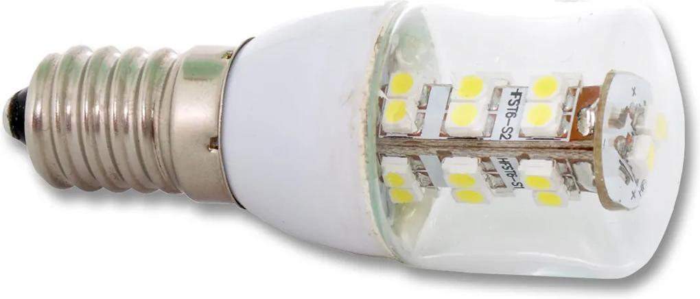 Ecolite LED žiarovka E14 2W studená biela