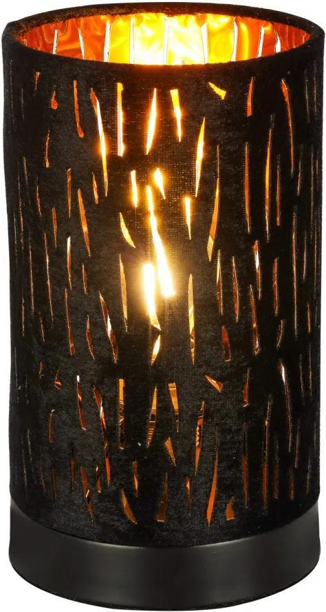 Globo 15264T1 Stolné Lampy TUXON čierny kov 2 x E14 max. 40W IP20