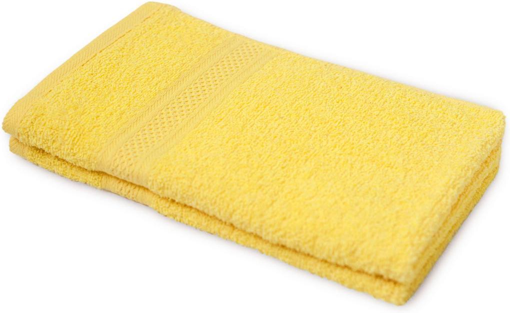 Detský uterák BAMBI žltý 30x50 cm