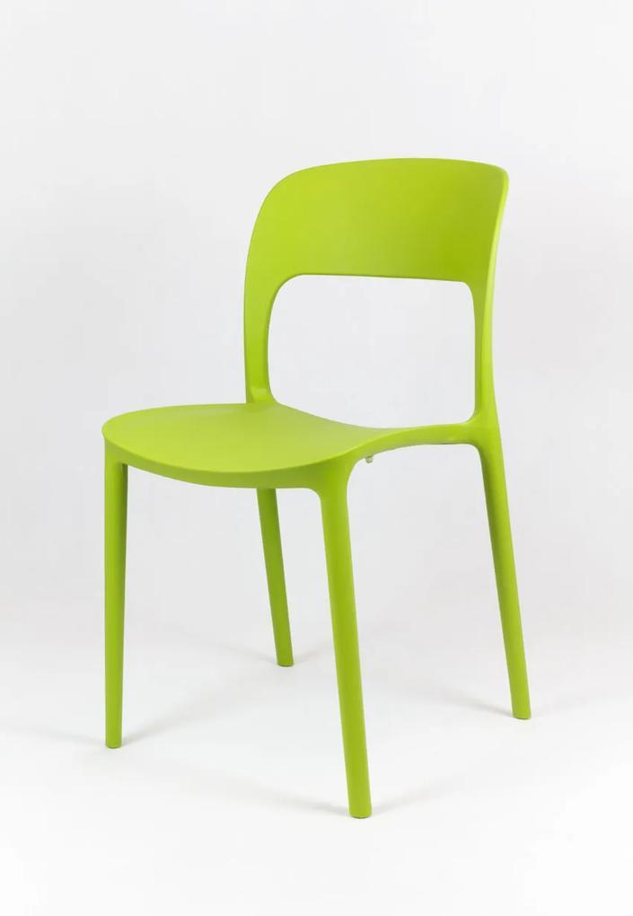 MAXMAX Dizajnová stolička BIBIONE - zelená