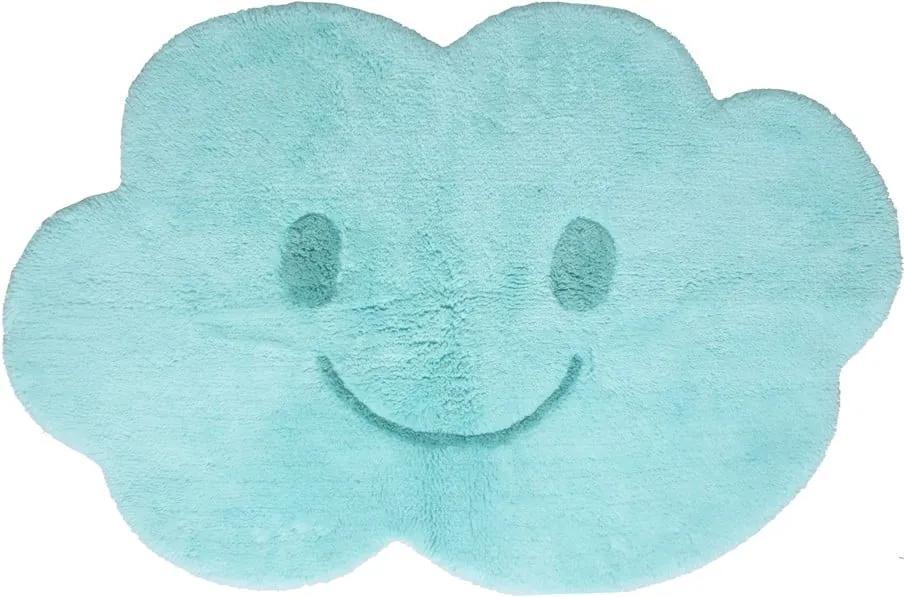 Detský modrý koberec Nattiot Nimbus, 75 × 115 cm