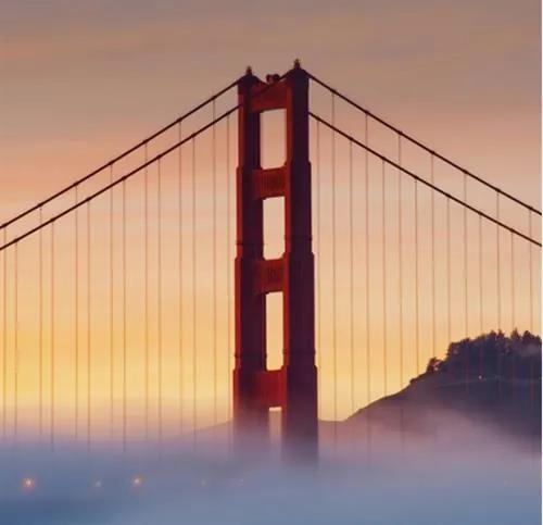Luxusné vliesové fototapety, rozmer 279 cm x 270 cm, San Francisco, P+S International CL40A