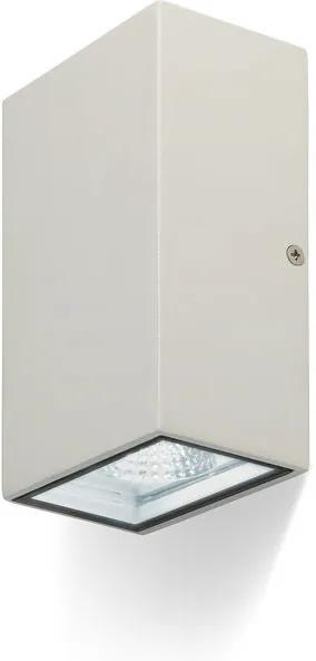 RENDL R10352 DIXIE 10X16 nástenná biela 230V/350mA LED 2x5W IP54 3000K