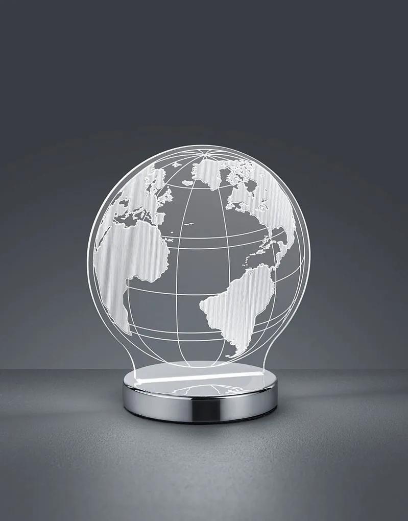 TRIO Reality R52481106 Globe stolové svietidlo LED 1x7W 400lm 3000+4000+6500K
