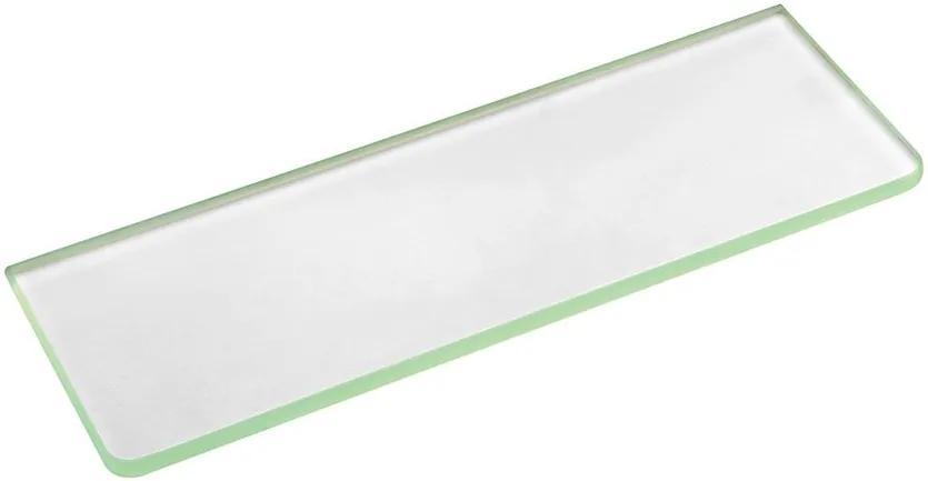 Sapho 22486 polica 1000x100x8mm, mliečne sklo