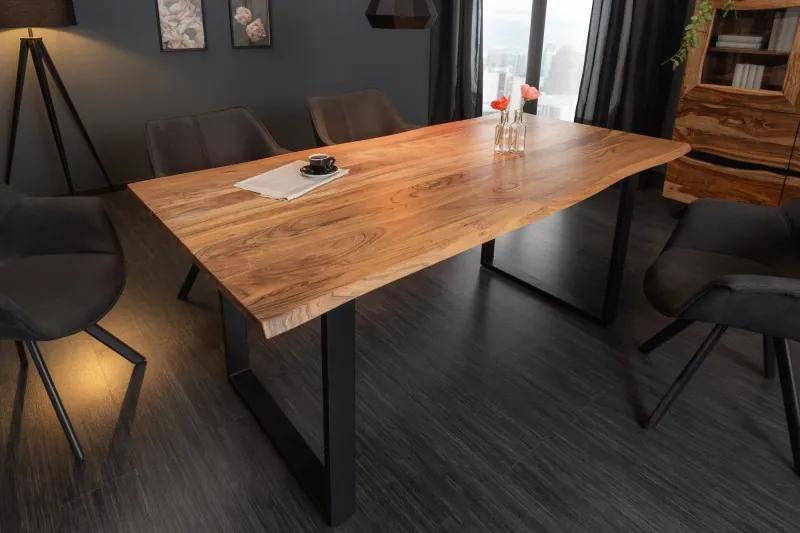 Dizajnový jedálenský stôl Massive 180 cm divá akácia
