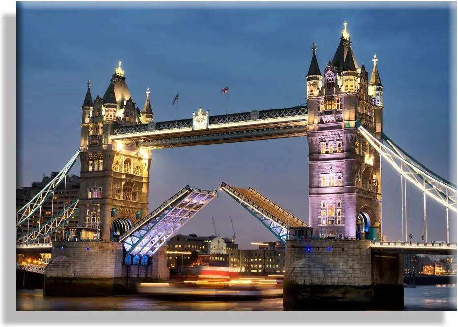 MAXMAX Obraz na plátne TOWER BRIDGE - vzor 4