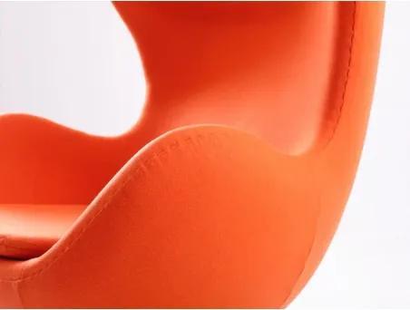 VJC CHAIR Oranžová kašmír