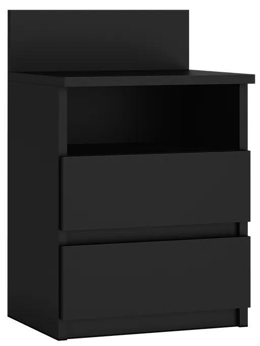 Nočný stolík čierny Dino