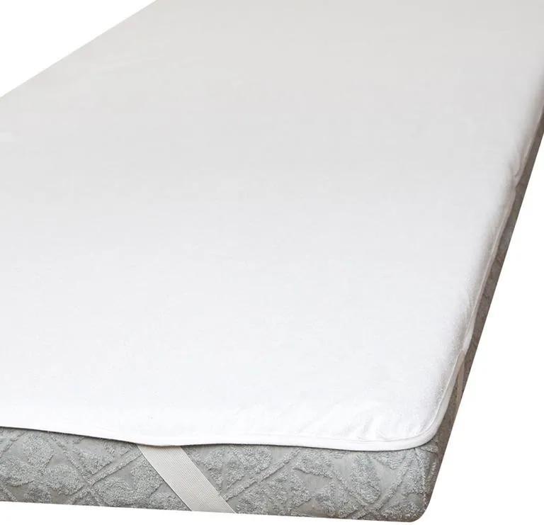 Nepriepustný froté chránič matraca biely 60 x 120 cm