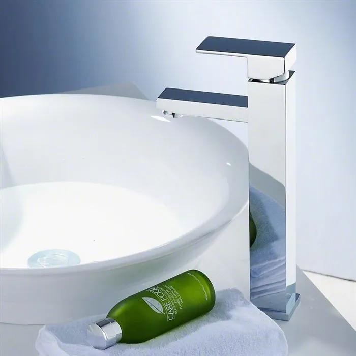MAXMAX Umývadlová batéria EGGO vysoká umývadlová