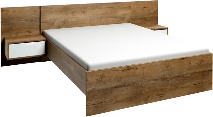 Posteľ Astrid L1 160cm + 2x nočný stolík