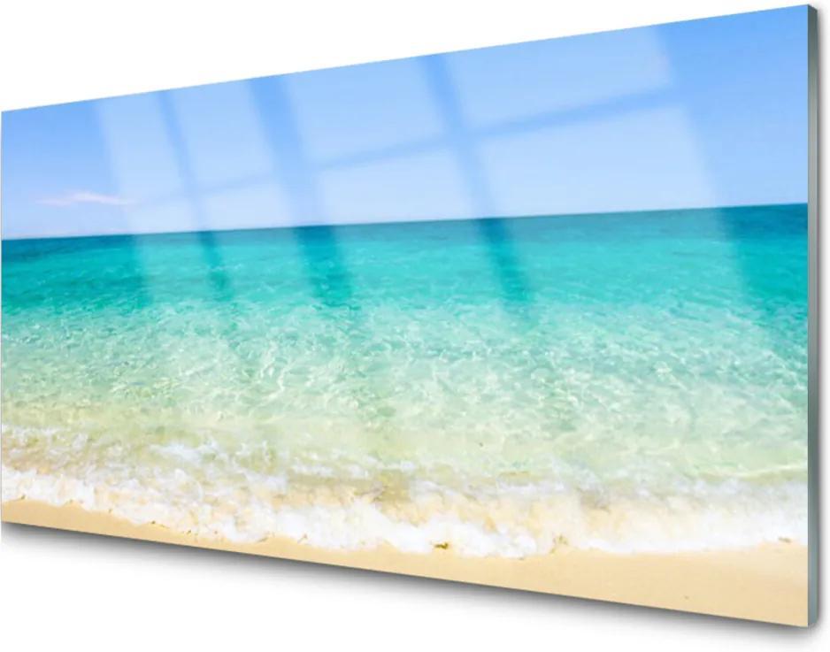 Obraz na skle Sklenený More Príroda