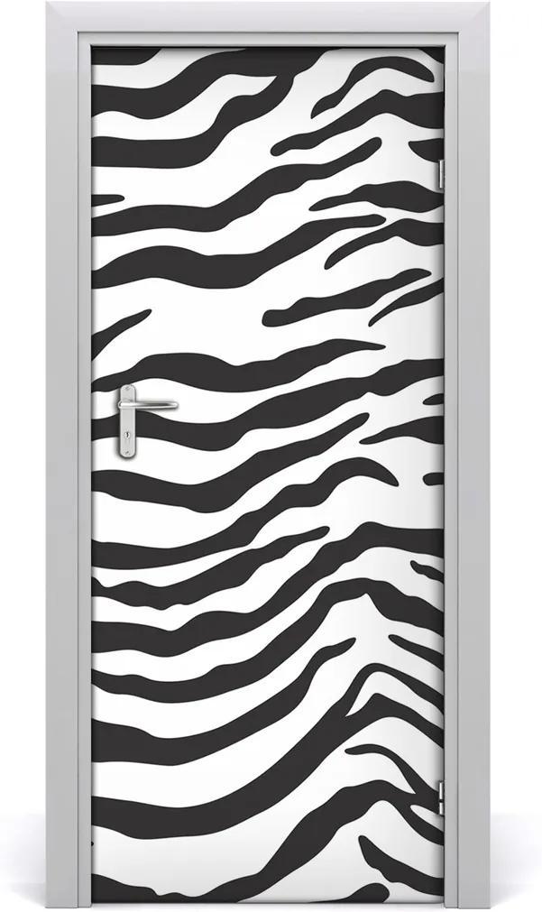 Fototapeta na dveře Zebra pozadí