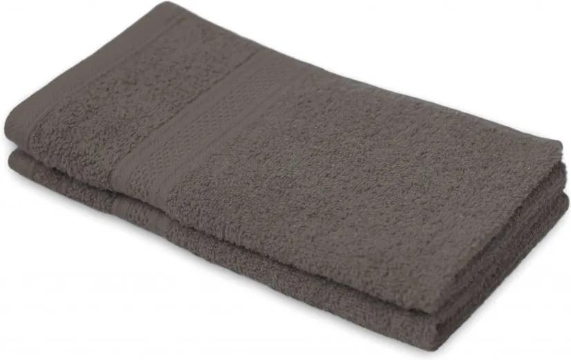 Detský uterák BAMBI sivohnedá 30x50 cm