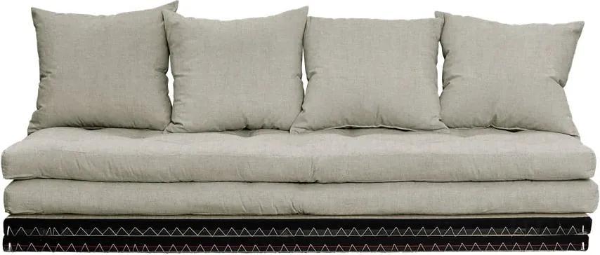 Rozkladacia pohovka s ľanovým poťahom Karup Design Chico Linen