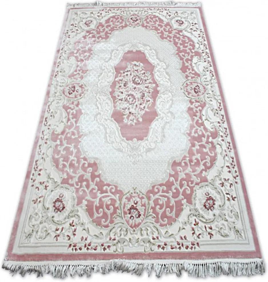 Luxusný kusový koberec akryl Hill staroružový, Velikosti 100x200cm