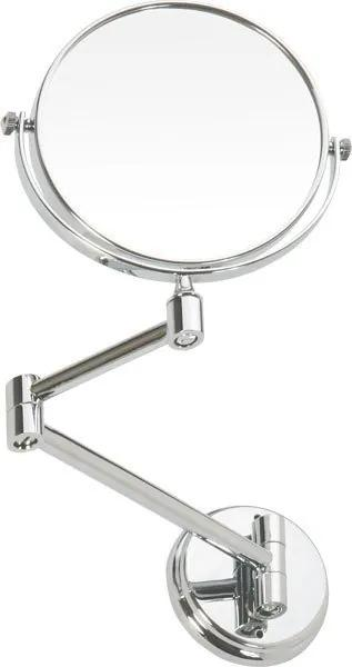 Sapho OMEGA E závěsné kozmetické zrkadlo průměr 150mm chrom 106301122