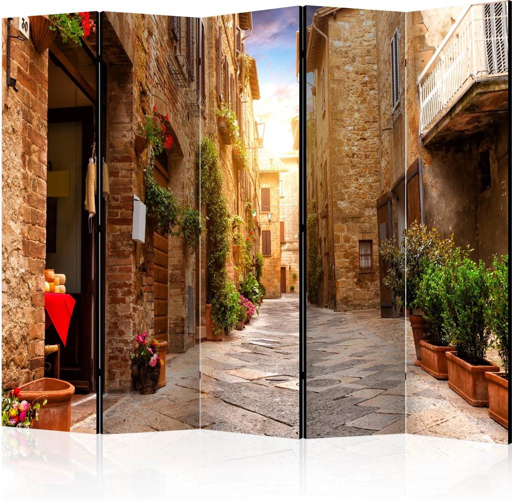Paraván - Colourful Street in Tuscany II [Room Dividers] 225x172 7-10 dní