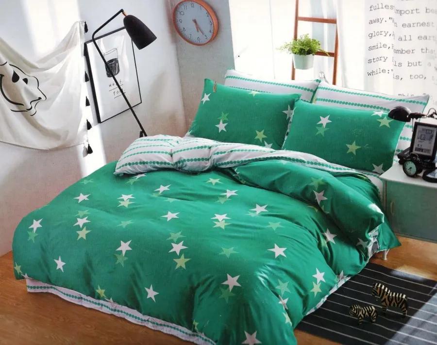 Foto obliečky Zelené hviezdy Balenie: 3-dielne balenie