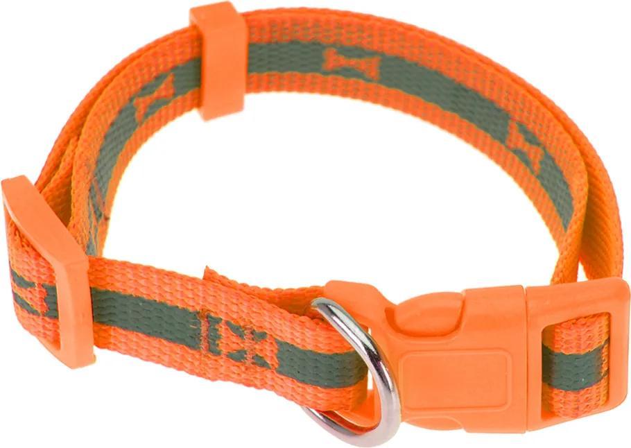 Obojok pre psa Neon oranžová, veľ. S , S