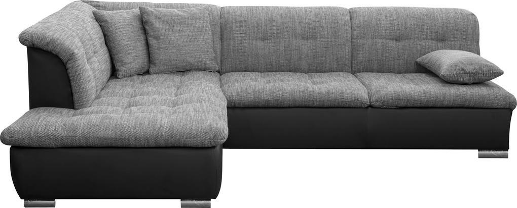 Rohová sedacia súprava Faro A - rozkladacia so šuplíkom (ottmax zs+2zf)