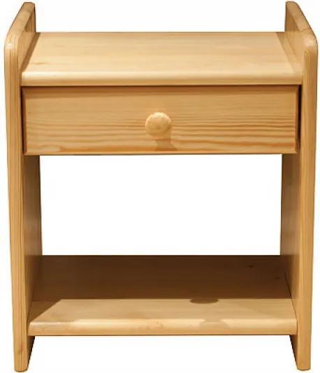 AMI nábytok noční stolek Vita olše