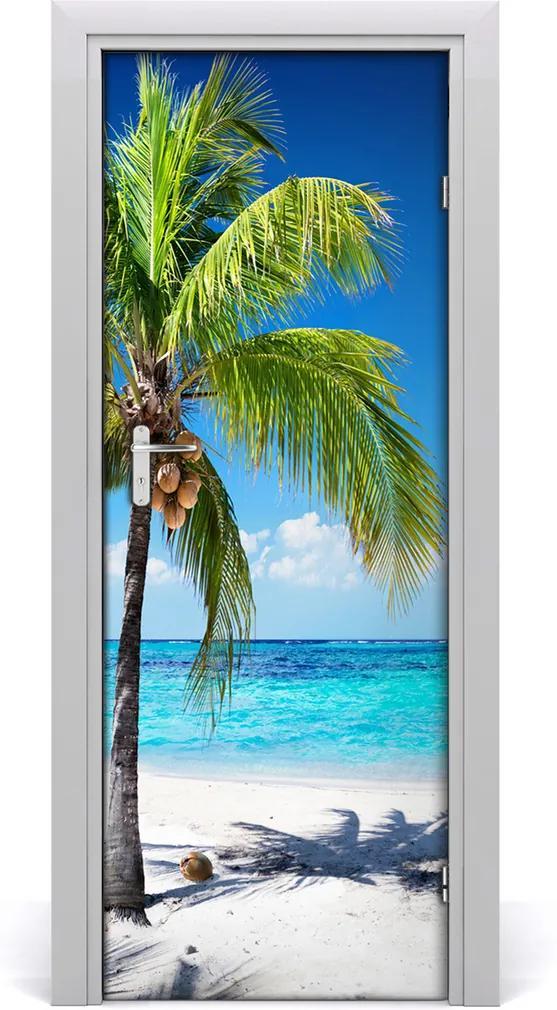 Fototapeta na dveře samolepící Tripická pláž