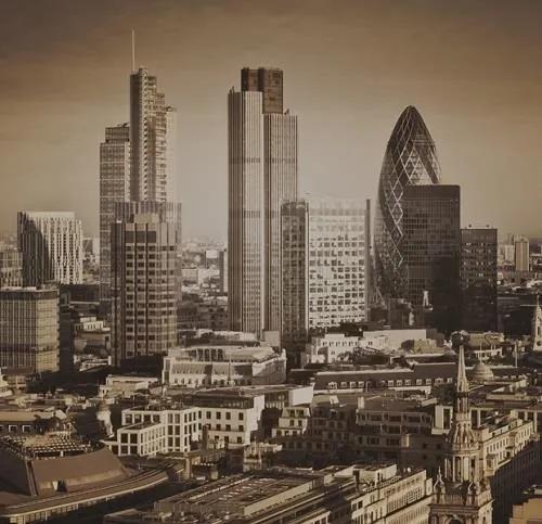 Luxusné vliesové fototapety, rozmer 279 cm x 270 cm, Londyn, P+S International CL17C