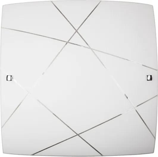 Rábalux Phaedra 3699 Stropné Svietidlá biely E27 2x MAX 60W 400 x 400 mm