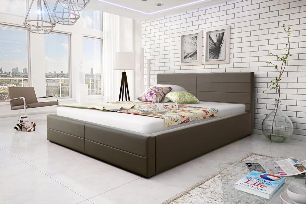 Manželská posteľ 180 cm Como (s roštom)
