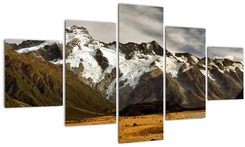 Obraz hory Sefton, Nový Zéland (125x70 cm), 40 ďalších rozmerov