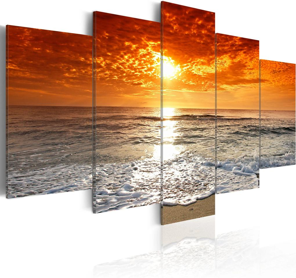 Obraz - Calm ocean 100x50