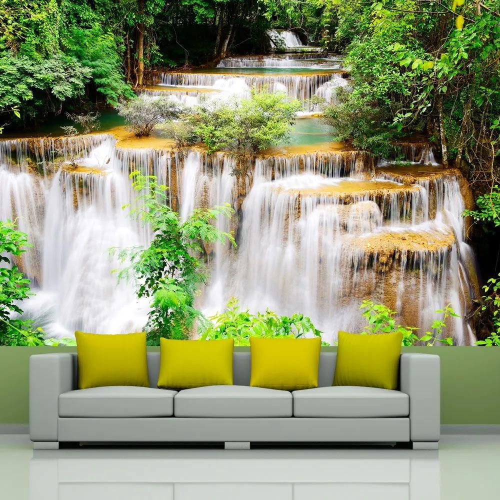 Fototapeta - Thai waterfall 300x210