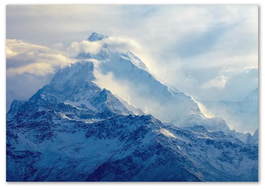 Foto obraz fotografie na skle Horský vrchol pl-osh-100x70-f-83551401
