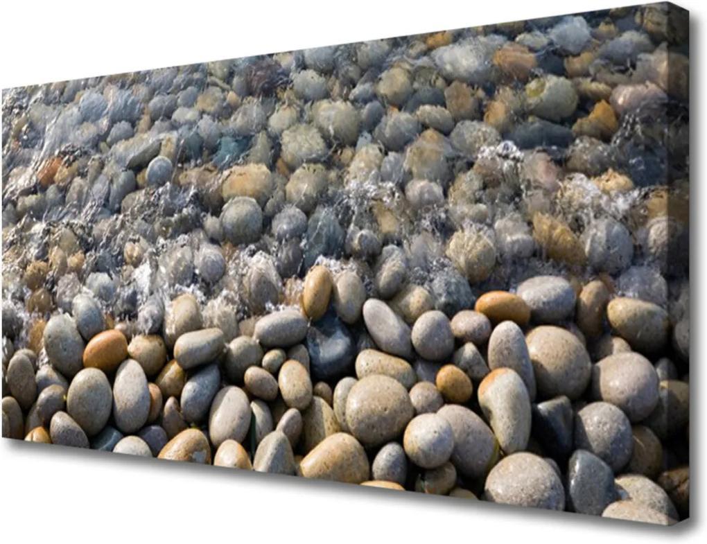Obraz Canvas Kameny voda umění