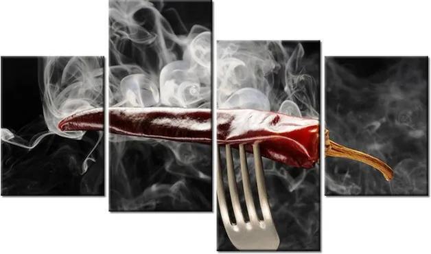 Tlačený obraz Horúca chilli paprička 120x70cm 1199A_4Z