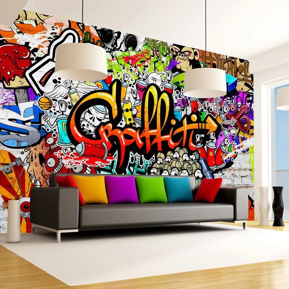 Fototapeta - Colorful Graffiti 300x210
