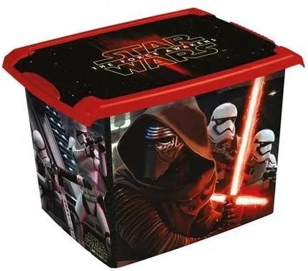 Keeeper Plastový úložný box s vekom Star Wars 20l