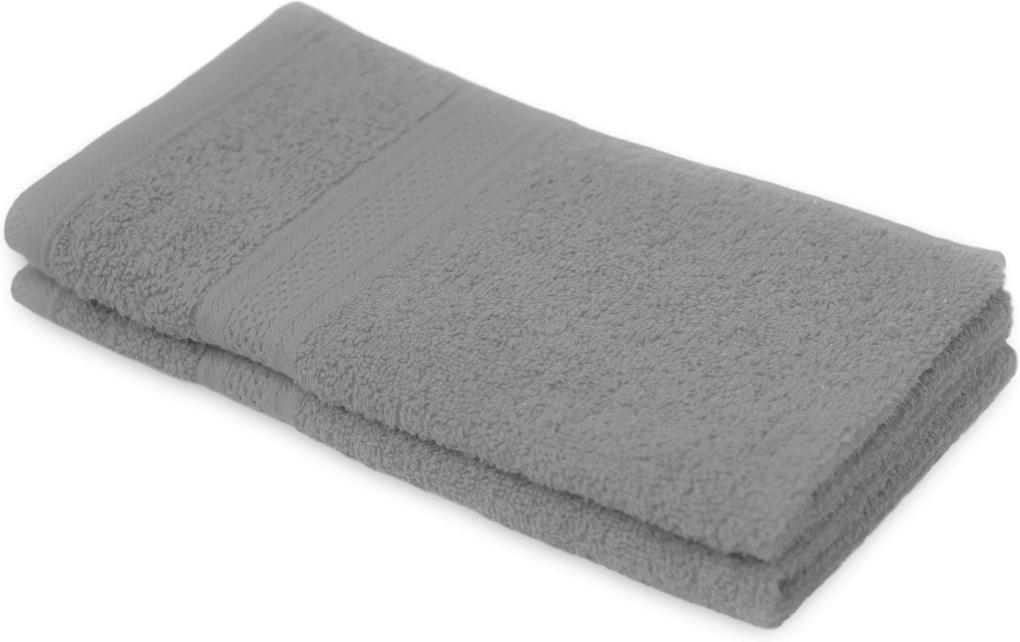 Detský uterák BAMBI sivý 30x50 cm